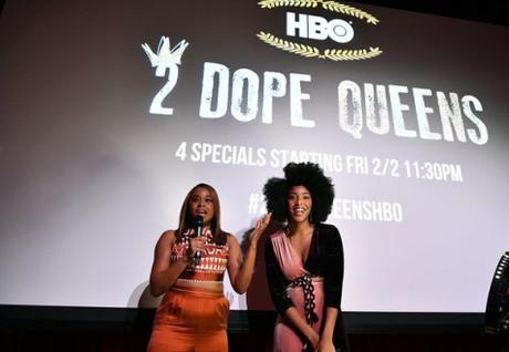 [Pics!] HBO's '2 Dope Queens' NYC Slumber Party Premiere