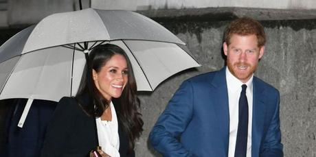 Meghan Markle Attends First Awards Show With Prince Harry