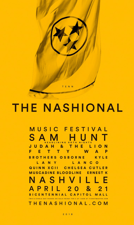 2018 Nashional Music Festival Lineup and Ticket Announcement