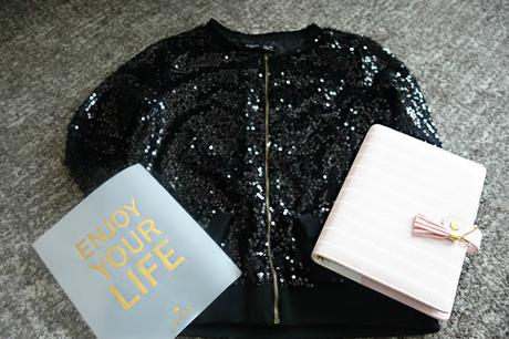 Sequin Jacket - It's Time to Shine