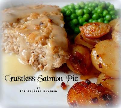 Crustless Salmon Pie