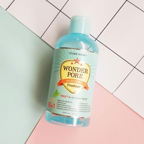 10-in-1 Toner: Etude House Wonder Pore Freshner Review