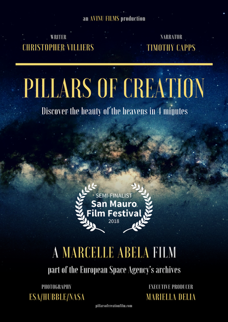 Pillars of Creation semi-finalist in 2018 San Mauro Film Festival