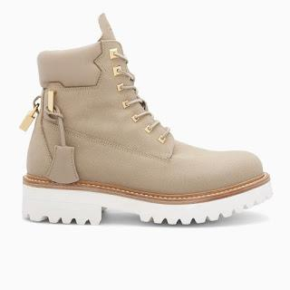 Work Boot Deluxe:  Buscemi Canvas Site Boot