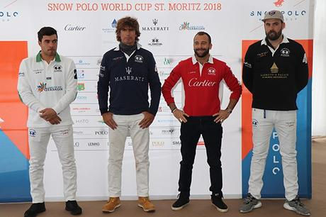 The People of the 2018 Snow Polo World Cup in St. Moritz