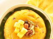 Mango Rava Kesari Semolina Pudding Sheera