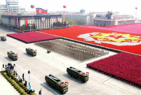 General Bone Spurs Bigly Military Parade