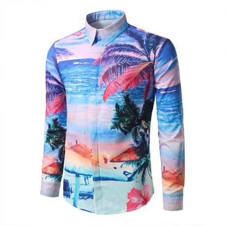 long sleeve Hawaiian shirts online