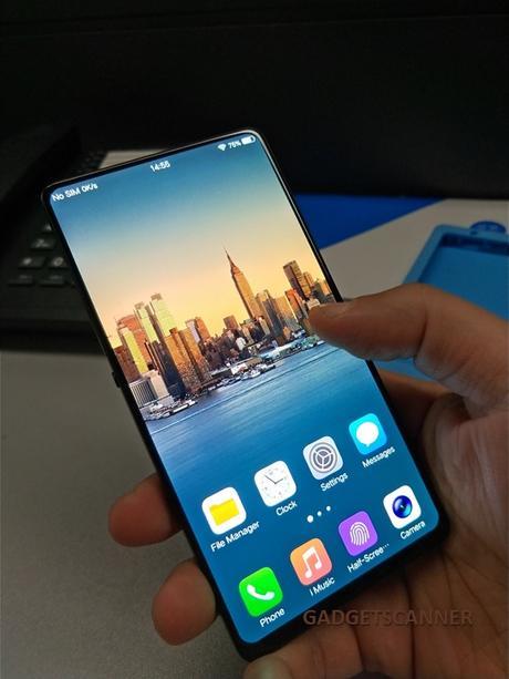 under display finger print, upcoming android phone, upcoming phone, Vivo, vivo bezel less phone, apple, vivo x20 plus