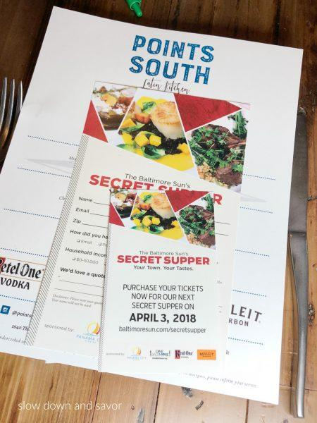 The Baltimore Sun's Secret Supper at Points South Latin Kitchen