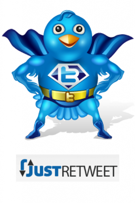 JustRetweet increases your tweets reach and social proof