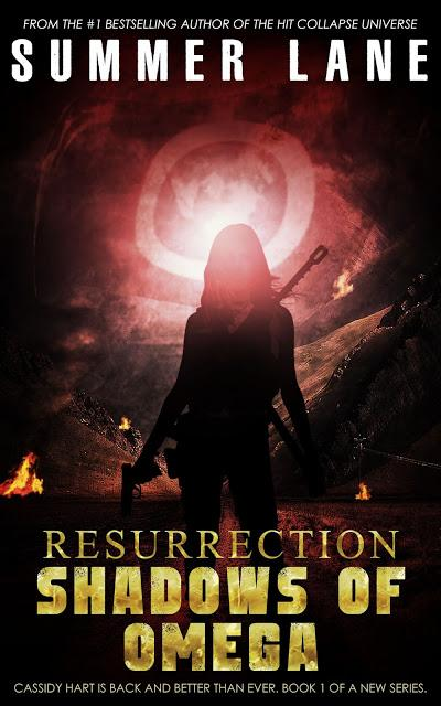 RESURRECTION: SHADOWS OF OMEGA - BESTSELLING HEROINE, CASSIDY HART, RETURNS!