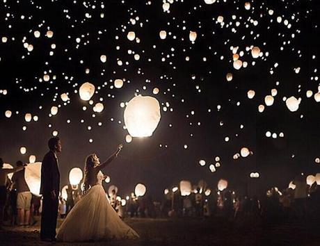 love quotes bride groom wedding lights
