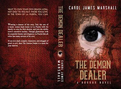 The Demon Dealer: A Horror Novel by Carol James Mitchell