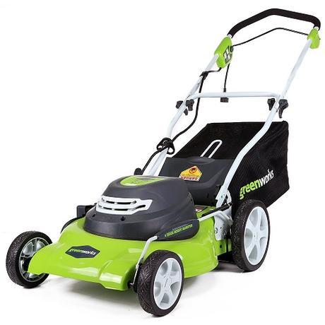 best walk behind lawn mowers - Greenworks 25022