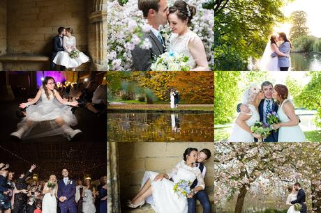 Yorkshire Wedding Photography Barn Venues Collage of East Riddlesden Hall Weddings