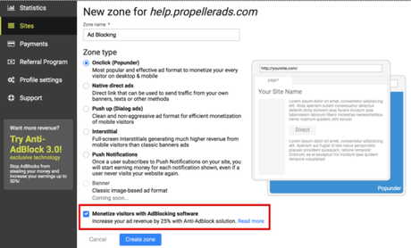 How To Integrate Propeller Ads To Bypass Adblock On Your Website?