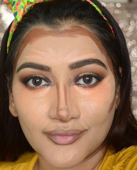 how to highlight and contour as per your face shape.
