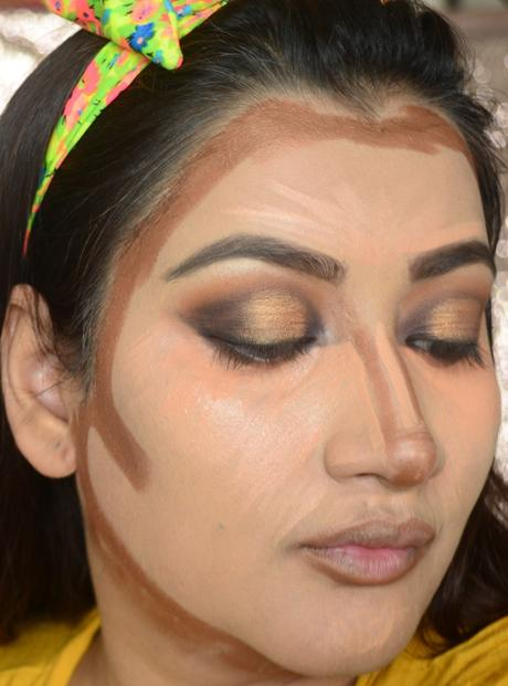 how to highlight and contour according to your face