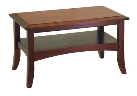 coffee tables for small spaces - Winsome Wood Craftsman Coffee Table