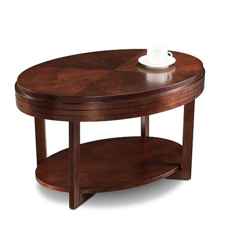 coffee tables for small spaces - Leick 10109-CH Favorite Finds Coffee Table