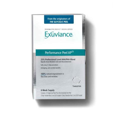 performance peel, exuviance performance peel, anti aging, skincare, fine lines, wrinkles