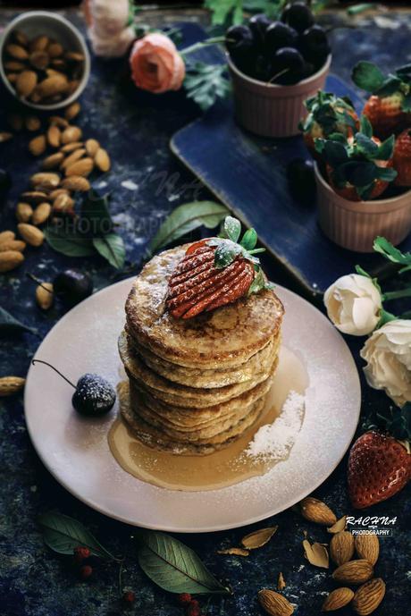 Keto Low Carb Pancakes For Shrove Tuesday  [ Paleo & Gluten free ]