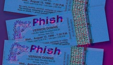Phish: new archival release 08/12/1998 Vernon Downs 1998