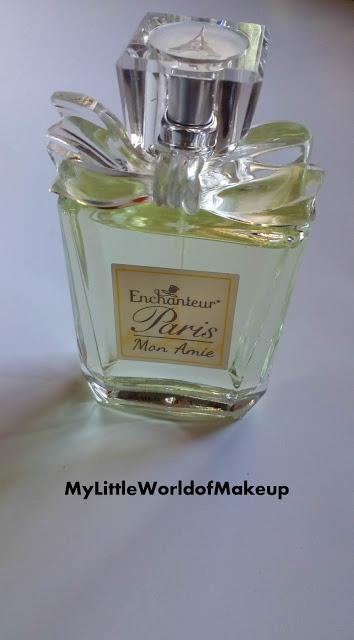 Enchanteur Paris Mon Amie Perfume Review - Perfect Valentine's Day gifting option for her
