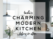 Before After: Tasha's Charming Modern Kitchen