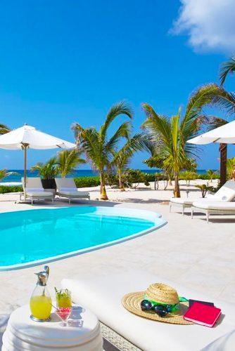 cayman island honeymoons pool le soleil