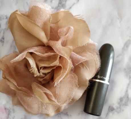 MAC Rebel lipstick on Indian skin tone