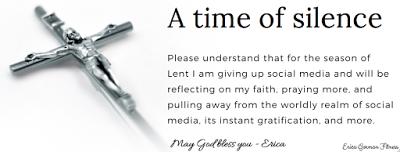 Going Silent for Lent