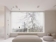 Bright Minimalist Home with Light Wood Accents