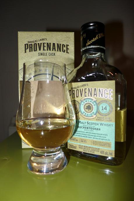 Tasting Notes:  Douglas Laing's Provenance Single Cask: Auchentoshan 11 Year