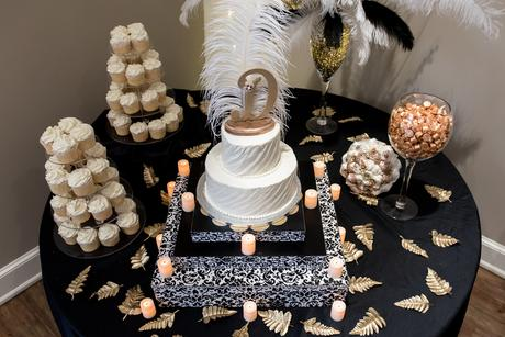 Feathers, Pearls, Gold and Sparkles