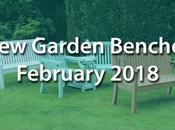 Brand Garden Benches February 2018