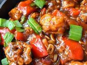 Mushroom Manchurian (Gravy)