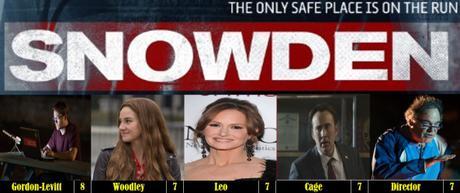 Joseph Gordon Levitt Weekend – Snowden (2016)