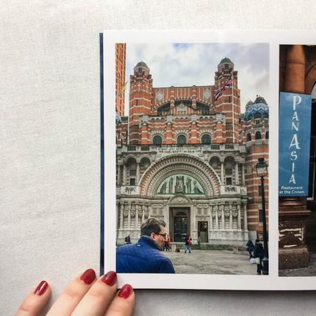 Photobook of Our Holiday in London {Saal Digital-Review}