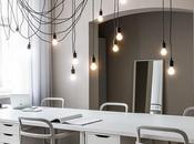 Contemporary Office Design with Impressive Lighting