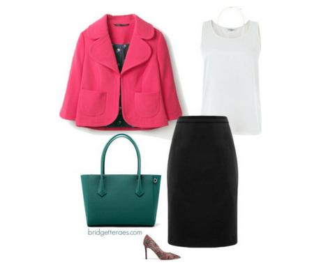 Five Ways to Wear a Black Pencil Skirt