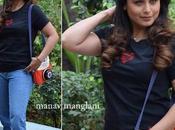 Rani Mukherjee Poses Movie Promotion, Hichki