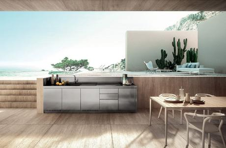 PREVIEW AT MILAN DESIGN WEEK: THE NEW OUTDOOR KITCHEN BY ABIMIS