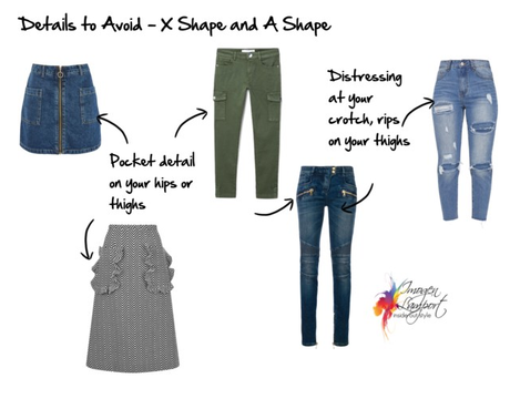 How to Rock Patterns on Your Lower Half – X and A Shapes