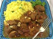 Slow Cooker Lamb Rhubarb Tagine #FantasticalFoodFight