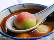 Tang Yuan 花生汤圆 (Glutinous Rice Balls with Peanut Butter Filling)
