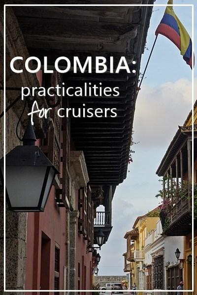 Colombian practicalities for cruisers