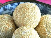 Nian Glutinous Rice Ball 年糕煎堆 Fried