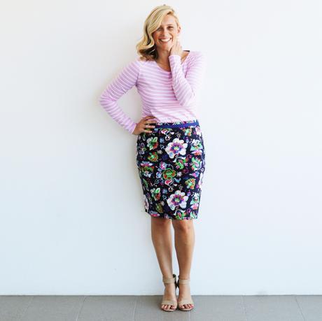 Triple Treat: The Printed Pencil Skirt